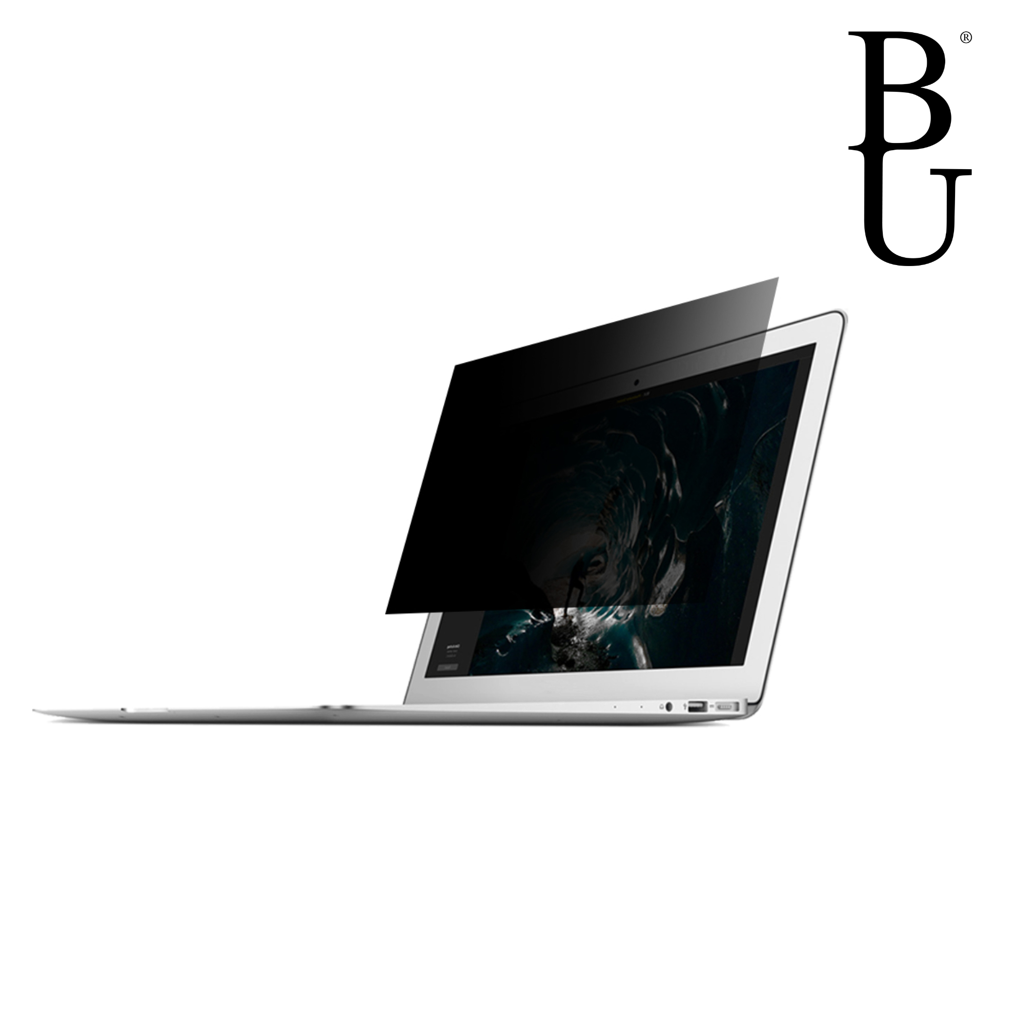 Mit einem Blickschutzfilter für dein Macbook kannst du einen Blickschutz generieren, in dem du die Blickschutzfolie an deinem Macbook anbringst.